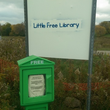 library on the Grand river trail