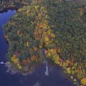 Fall colours in the Kawarthas