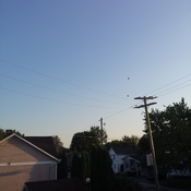 clear blue sky with a chance of air balloons!