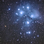 Messier 45 - The Pleiades Cluster