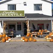 Country Store in Autumn