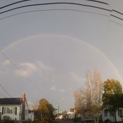 Rainbow over Moncton