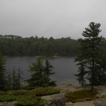 my tour along Hartley Bay road French river
