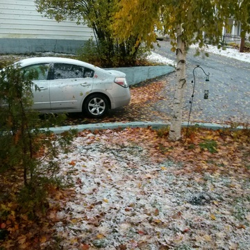 Snow in October