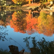 Fall Morning on Mill Lake, McDougall ON