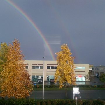 Two beautiful parallel Rainbows..