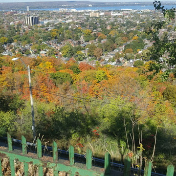 Hamilton escapment in fall