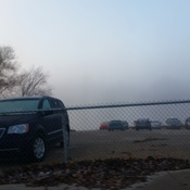 slaw rubchuck bridge..foggy