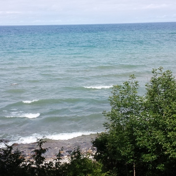 Unbelievable its a lake.....Lake Huron