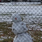 Too Early Mr. Snowman !