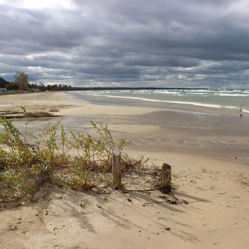 Sauble Beach Windy Day