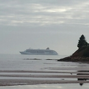 Cruise ship, Bellevue Cove