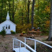 Little White Church in the Woods