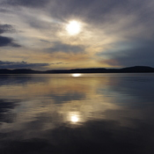 Whitefish Lake Sunset