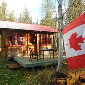 My cabin at Sicamous BC