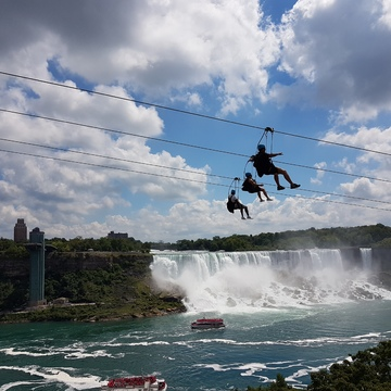 Zipline at Niagara Falls