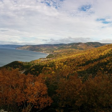 look off on the cabot trail