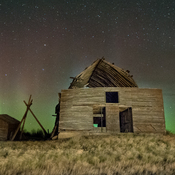 aurora oct 25th north of Lethbridge