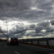 bridge clouds