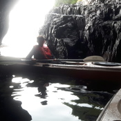 cave canoeing in bonavista bay