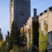 Johnston Hall in the Fall