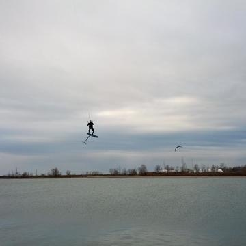 Para-Boarding in Cobourg Harbour