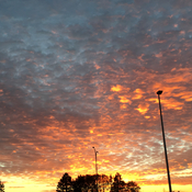 Gorgeous skies in Dartmouth on November 13th