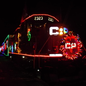 c p holiday train