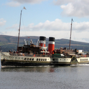 An oldie but goodie. The Waverly paddle steamer