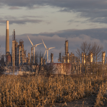 Refinery at Dawn