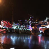 Chilliwack BC santa parade 8c and rainy