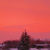 Colourful Saskatchewan Sunset