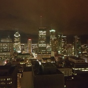 Montréal at night