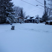 First Real Snowfall in Orillia