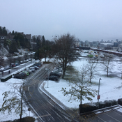Vancouver gets first snow