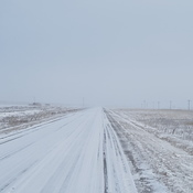 hiway 13 near Aneroid, SK