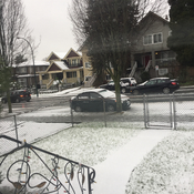 First snowfall of the year in metro Vancouver