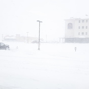 Blizzard Strikes Estevan