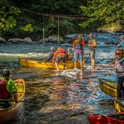 Gull River Canoe Race