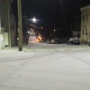 First snow in Saint John NB that stayed on the ground