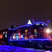 CP Holiday Train 2016 in Regina
