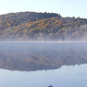 Lac Paquin in Autumn