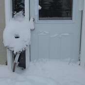 Snow-covered Wreath