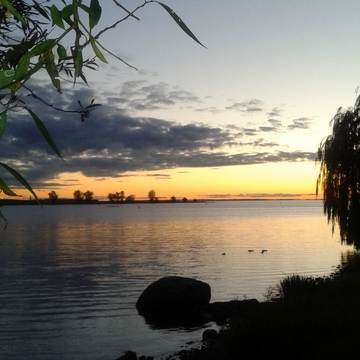 lachine canal sunset...missing fall!