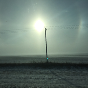Sundogs of Saskatchewan
