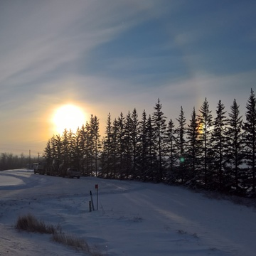 Peace River Sun Dog.