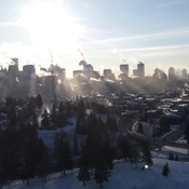 Calgary in the cold