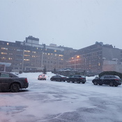 Snowing in Chicoutimi now.