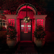 The Red Door ~ Christmas @ Butchart Gardens