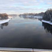 Rideau River from Vimy Bridge